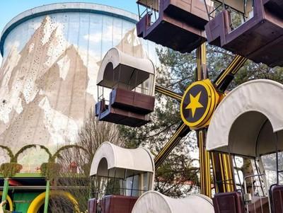 Foto: Taman Rekreasi Indah di Lahan Bekas Reaktor Nuklir