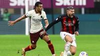 Seru! AC Milan Vs AS Roma Berakhir Imbang 3-3