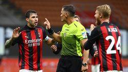 Wasit Milan Vs Roma Disorot, Fonseca dan Pioli Enggan Komentar
