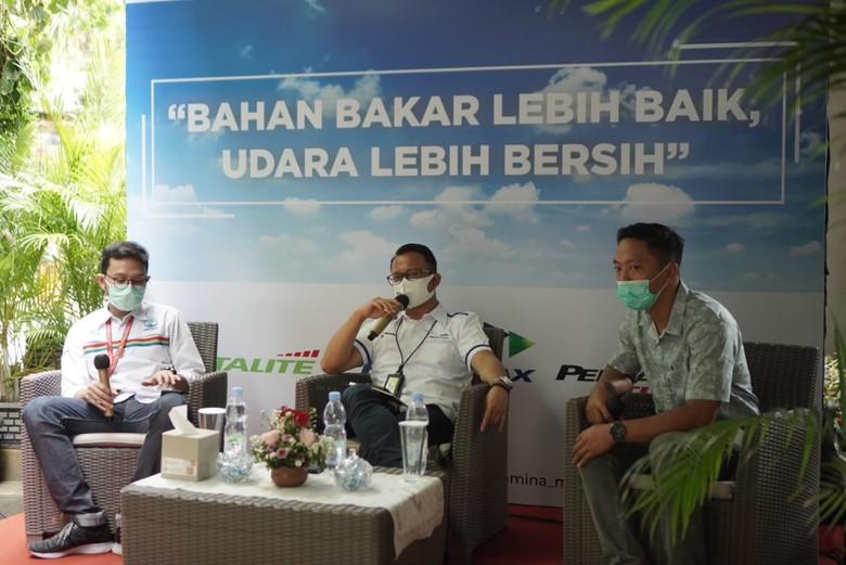 Acara temu media yang digelar oleh Pertamina Marketing Operation Region (MOR) IV wilayah Jawa Tengah dan Daerah Istimewa Yogyakarta (DIY) di Rosti Café, Semarang,