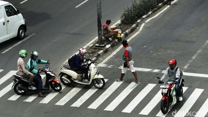 Polisi tengah menggelarOperasi Zebra 2020. Namun sejumlah pelanggaran lalu lintas masih kerap terjadi.