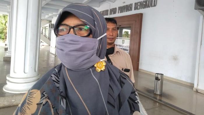 Anggota DPRD Provinsi Bengkulu Sefty Yuslinah.