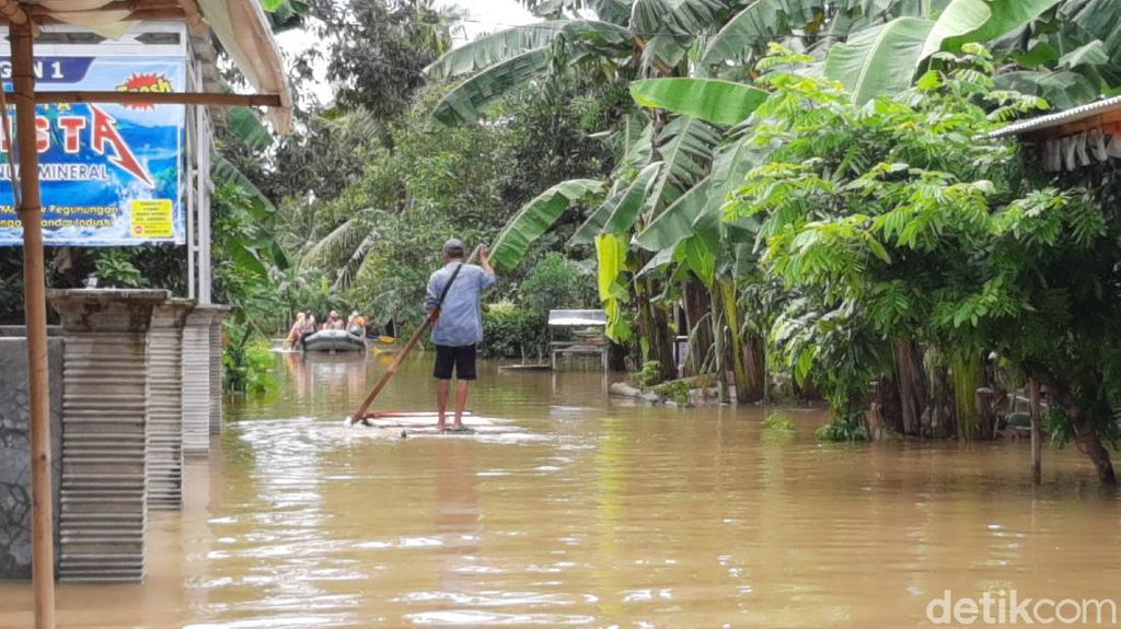 2 Kecamatan di Cilacap Terendam Banjir