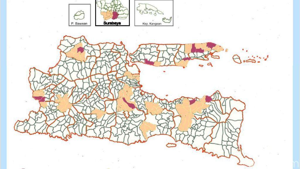 BMKG: Hujan Guyur Sebagian Wilayah Surabaya dan Sidoarjo
