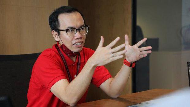 Direktur Digital Business Telkom Fajrin Rasyid