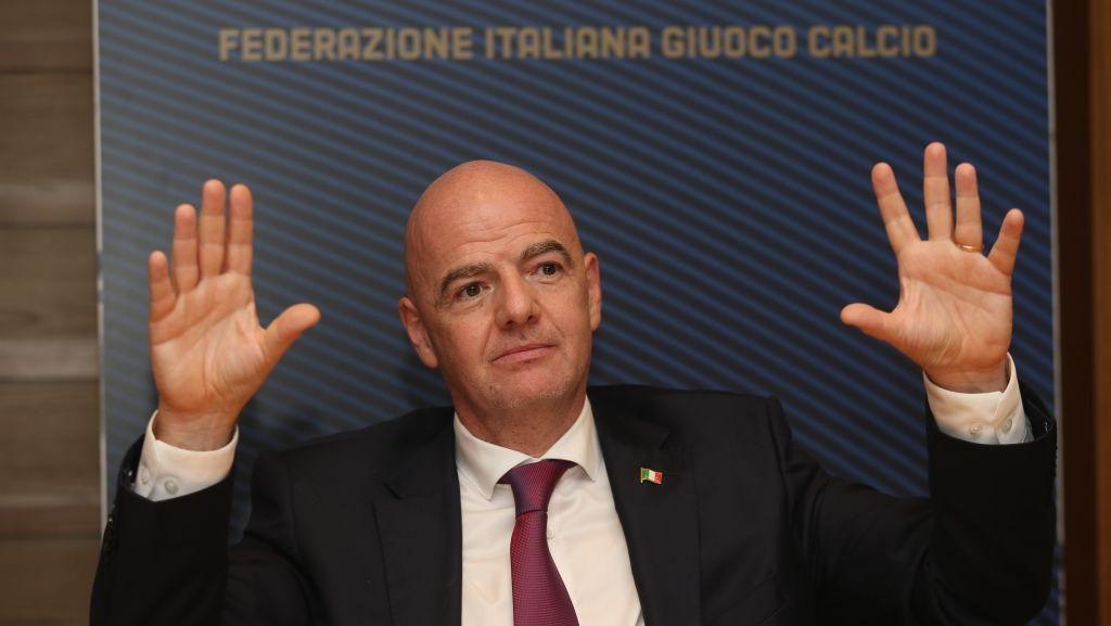 Presiden FIFA Gianni Infantino Positif Corona