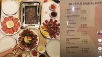 Kaget Harga Steak Rp 1,1 Juta, Pengunjung Ini Jadi Viral di TikTok