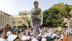Potret Muslim Dunia Kecam Pernyataan Presiden Prancis