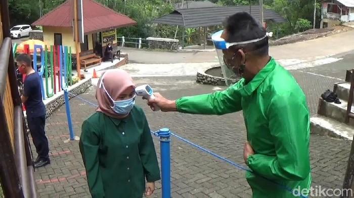 Objek wisata di Sumedang diwajibkan menerapkan protokol kesehatan