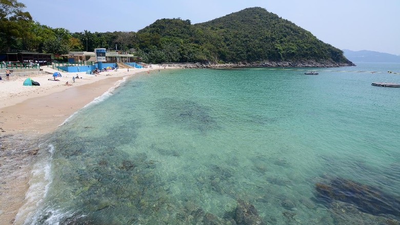 pantai di Hong Kong