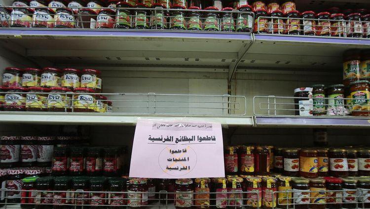 Gegara Macron, Perusahaan Arab Ini Boikot Produk Prancis