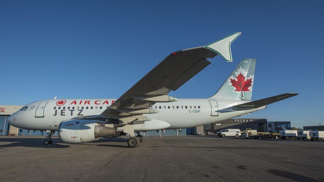 Pesawat Airbus A319 Jetz Air Canada