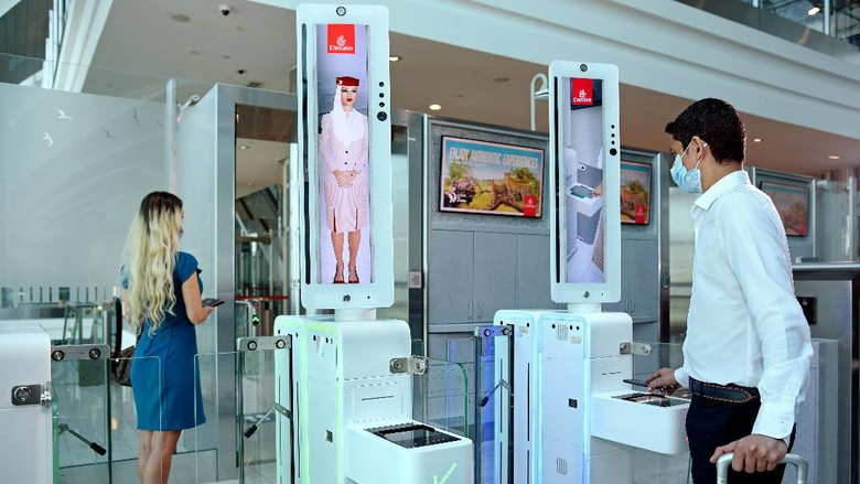 Rekam biometrik Emirates