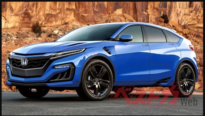 Rendering Honda NSX SUV