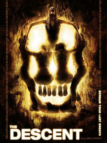 Film horor The Descent.