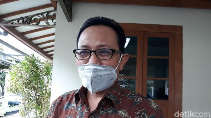 Wakil Wali Kota Yogyakarta Heroe Poerwadi. Foto diambil Selasa (27/10/2020)