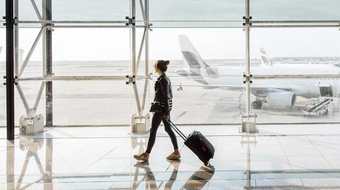 Ilustrasi bandara Eropa
