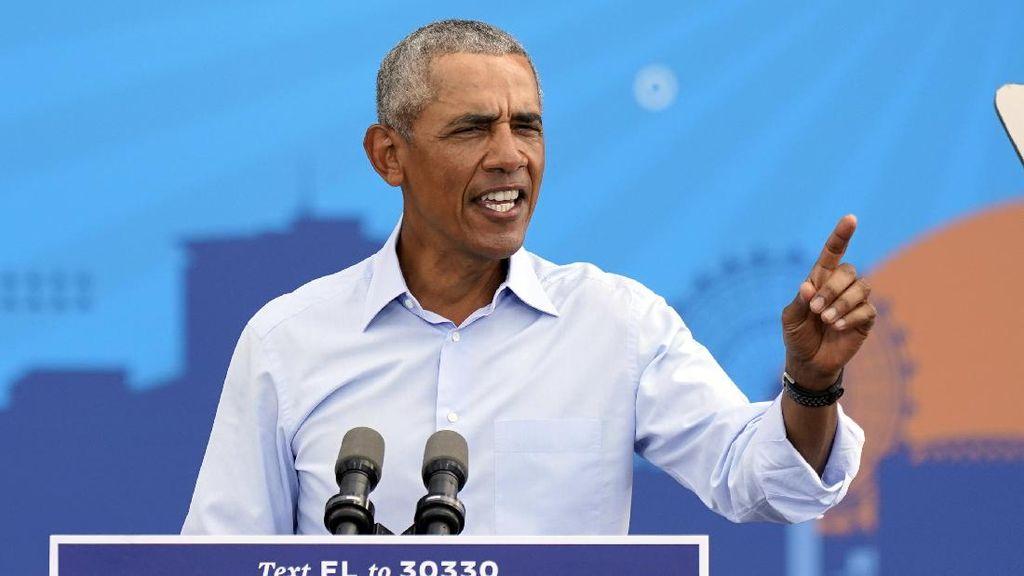 Baru Rilis Otobiografi, Barack Obama Raih Penghargaan Sastra dan HAM