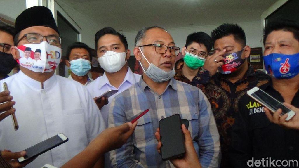 Bareng BW, Denny Indrayana Laporkan Paman Birin ke Bawaslu Kalsel