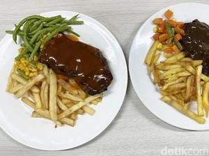 Beefsteak Rp 32.000 Vs Rp 216.000 Mana yang Lebih Empuk Juicy?