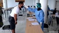 1 Wisatawan di Objek Wisata Semarang Reaktif Rapid Test COVID-19