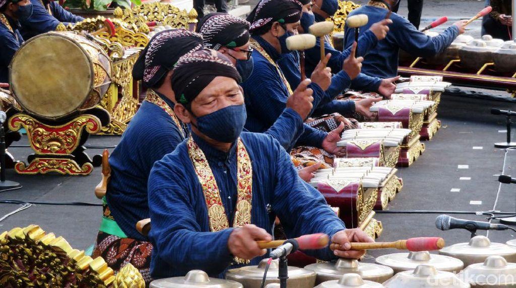 Gendhing Khas Keraton Yogyakarta Warnai Peringatan Sumpah Pemuda