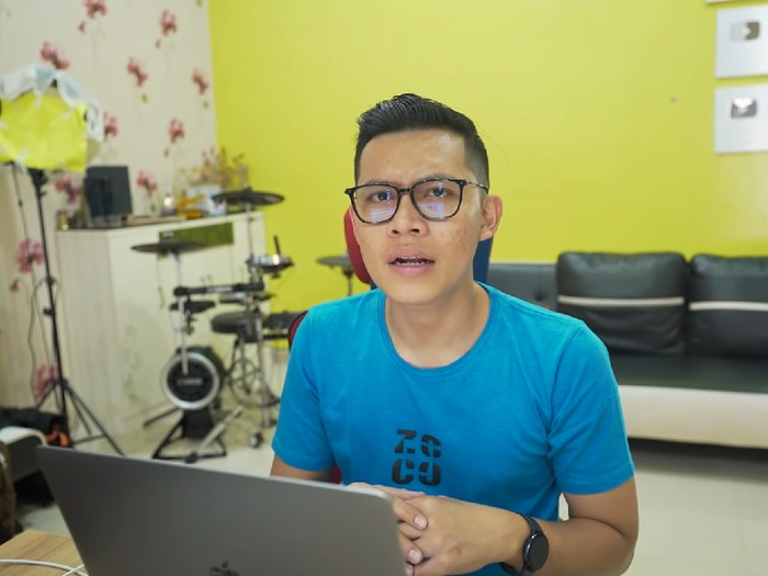 YouTuber Evan alias Hobby Makan