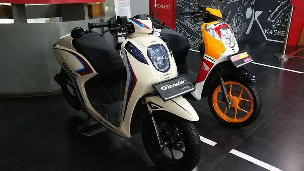 Honda Genio dengan livery Repsol MotoGP