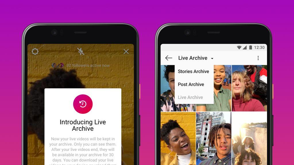 Video Instagram Live Diperpanjang Sampai 4 Jam