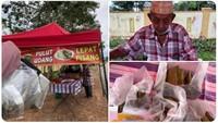 Kisah Haru Kakek Penjual Kue Pisang yang Cari Uang untuk Operasi Mata