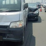 Dua Kecelakaan Beruntun Terjadi di Tol Layang Japek Hari Ini
