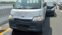 Pengemudi Kurang Hati-hati, Penyebab Kecelakaan Beruntun di Tol Layang Japek