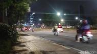 Tak Ada Massa Pendemo, Lalin di Sekitar Gedung DPR Ramai Lancar