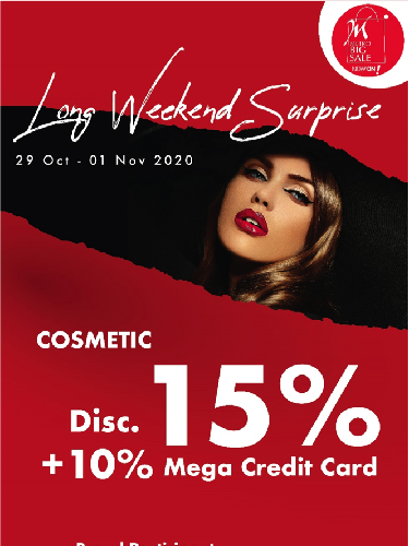 Long Weekend Special Big Sale Metro Department Store