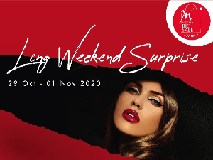Long Weekend, Metro Department Store Tawarkan Diskon Parfum dan Kosmetik