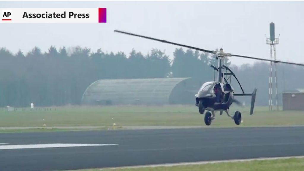 Mobil Terbang Buatan Belanda Kantongi Izin Beroperasi di Eropa