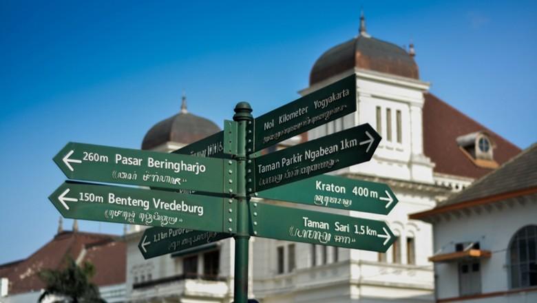 Nama-nama jalan di Yogyakarta