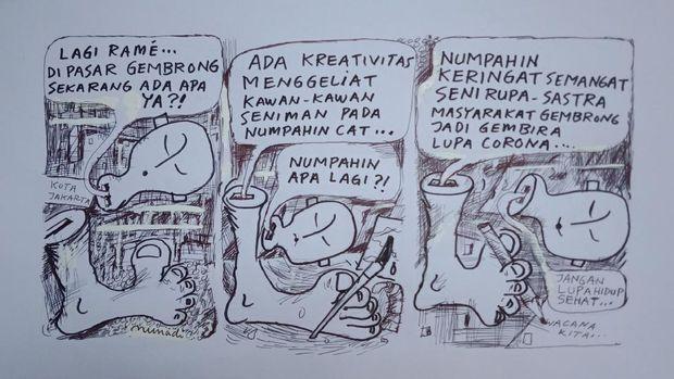 Pameran JE JAK KARTA Digelar di Galeri Nasional Indonesia mulai 28 Oktober 2020