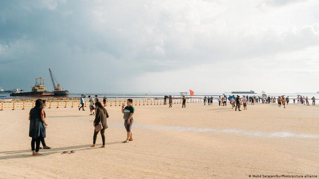 Pantai Pasir Putih Buatan di Filipina Bisa Sebabkan Bencana Ekologis