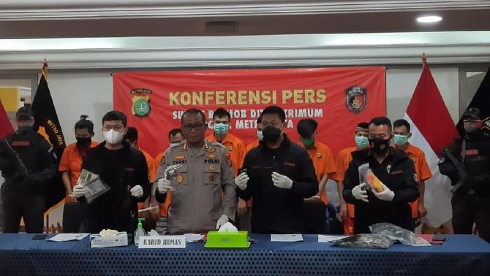 Pelaku curanmor ditangkap Polda Metro Jaya.
