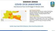 60 Persen Kab/Kota di Jawa Timur Jadi Zona Kuning COVID-19