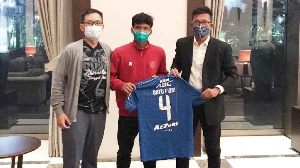 Persib Bandung Kontrak Pemain Timnas U-19, Bayu Mohamad Fiqri