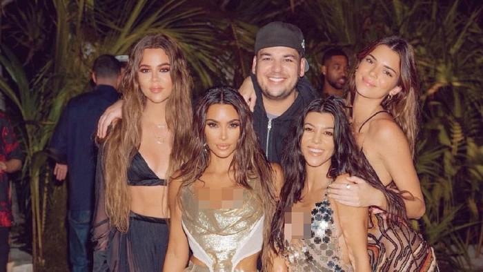 pesta ulang tahun Kim Kardashian