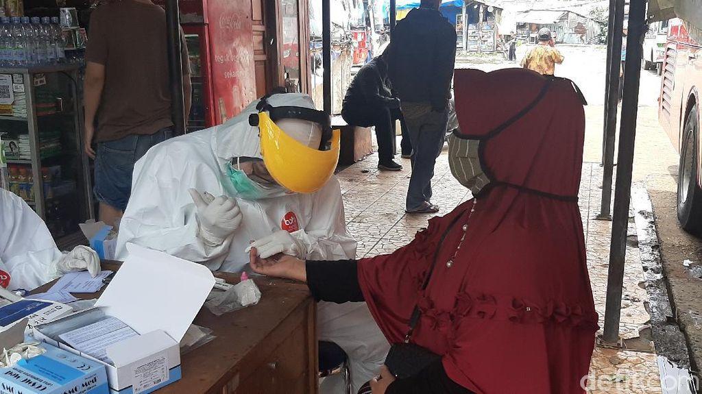Libur Panjang, Rapid Test Massal Digelar di Terminal Baranangsiang Bogor