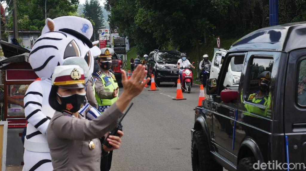 Bus dan Truk Dilarang Lewat Jalur Alternatif Cimahi-Dago Bandung