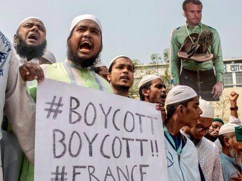 Protes besar di Bangladesh menentang kartun Nabi Muhammad, Prancis serukan warganya di Indonesia dan sejumlah negara lain berhati-hati