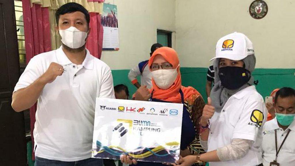 Kolaborasi 7 BUMN, Brantas Abipraya Luncurkan Kampung Milenial