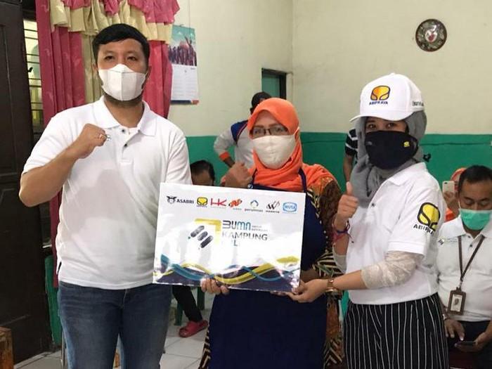 PT Brantas Abipraya (Persero) bersama Asabri, Wijaya Karya, Waskita Karya, Hutama Karya, Nindya Karya dan Perumnas mewujudkan program Kampung Milenial.