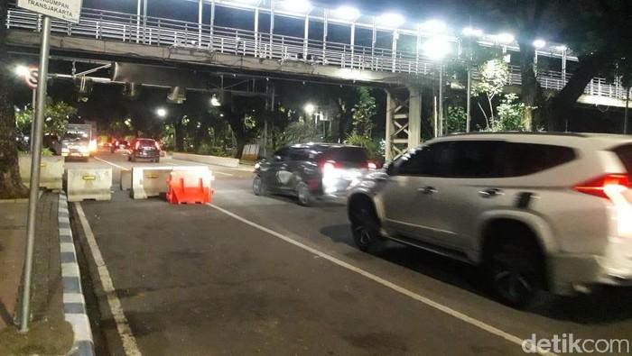 Situasi di Jalan Medan Merdeka Barat, Jakpus.