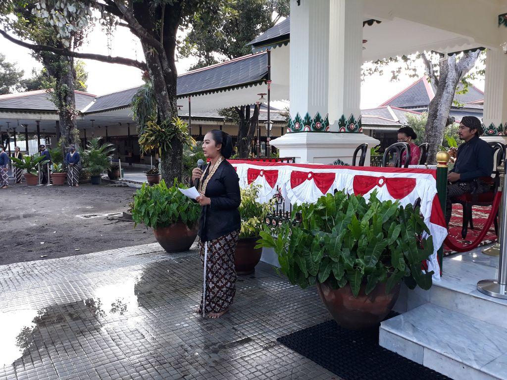 Suasana launching Album Gendhing Gati Volume 2 oleh KHP Kridhomardowo Karaton Ngayogyakarta Hadiningrat.